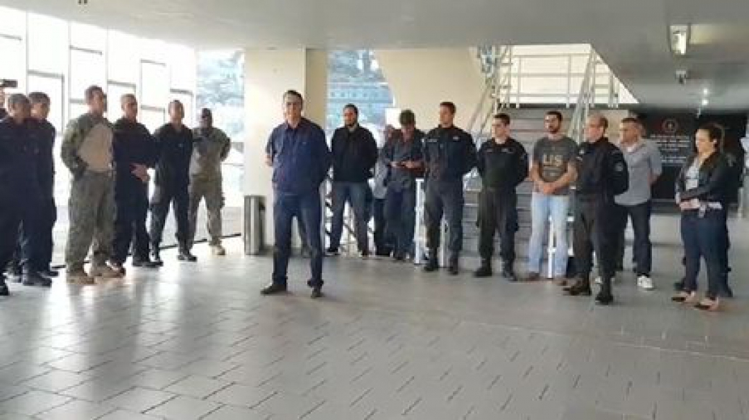 reprodução redes sociais Jair Bolsonaro