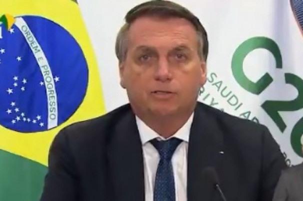Enxergo todos com as mesmas cores: verde e amarelo', diz Bolsonaro em  cúpula do G20