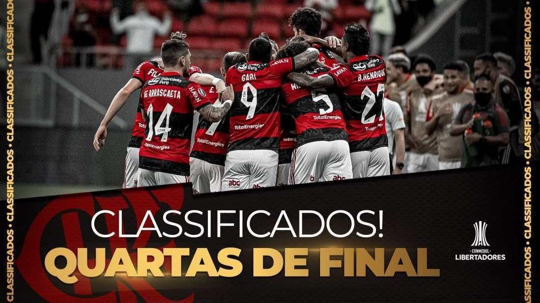 Foto e arte/Flamengo-Twitter